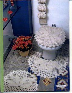 croche graficos tapetes para banheiro - Pesquisa  Google