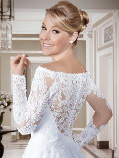 Vestidos de noiva - Coleção Callas (17) Detalhe costas