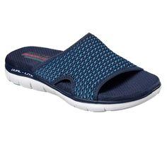 f6758a8aed0a Skechers Cali Women s Flex Appeal Stop Flat Sandal
