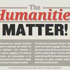 The humanities matter!