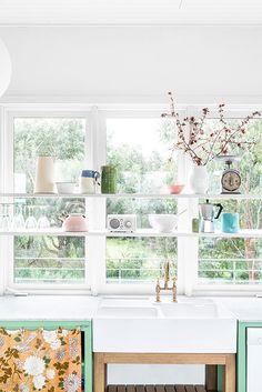 Kitchen window series.