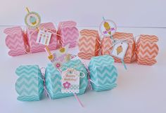 Doodlebug Design Inc Blog: 3-D Candy Boxes Featuring Chevron Sugar Coated Cardstock