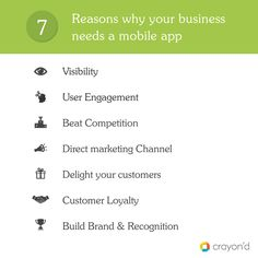 7 Reasons why every #business needs a #mobileapplication #marketing