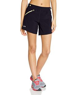 Under Armour Fly Fast 5 Inch Short  Womens Black  XRay  Reflective XS -- You can get additional details at the image link.(This is an Amazon affiliate link and I receive a commission for the sales)