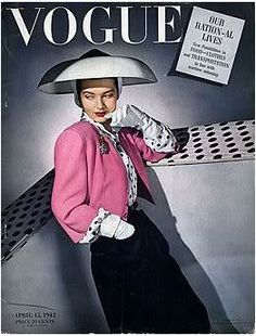 Vogue USA cover  - April 1942