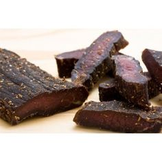This is Spicy Biltong. It has a mix of chilli spices that are used but it is mild enough to enjoy a whole bag without burning your mouth off! This is the Sliced version where we would slice the Biltong Sticks for you so it is more convenient to enjoy!