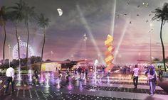Lemay Wins Global Bid to Redesign Casablanca Coast #design #coastal #concept #landscapearchitecture