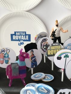 Una festa di compleanno a tema Fortnite - The Partytude Diaries Battle, Party Ideas, Blog, Party, Blogging, Ideas Party