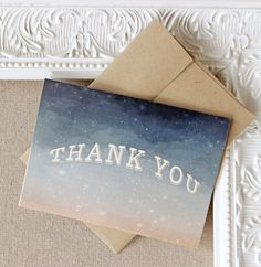 Starry Night Thank you Notes, set of twenty | Sunshine and Ravioli