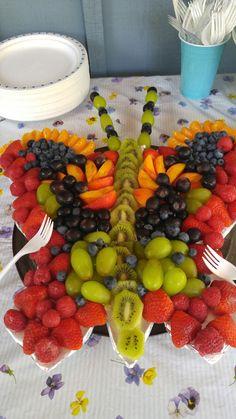 Butterfly fruit platter. Food ideas