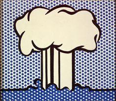 Atomic Landscape, 1966. Roy Lichtenstein