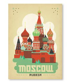 Look at this #zulilyfind! Kremlin 'Moscow' Wall Art #zulilyfinds
