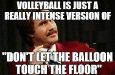 The truth about volleyball.