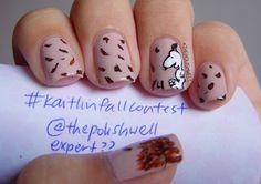 Fall Snoopy Nails - So cute!
