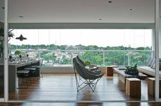 5 projetos de varandas multiuso que valorizam os apartamentos