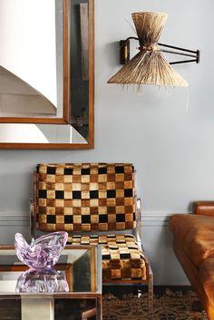 Natural Fibres were used to create this room design - Lorenzo Castillo, Madrid