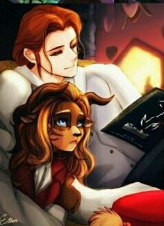Beauty and the beast Genderbend