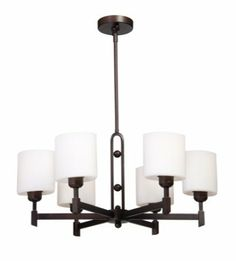 View the Artcraft Lighting AC1336 Six Light Chandelier from the Bristol Collection at Build.com.