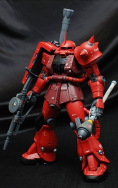 "Custom Build: MG 1/100 Char's Zaku II ""Detailed"" 35th Anniversary Presentation - Gundam Kits Collection News and Reviews"
