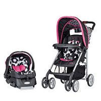 Evenflo JourneyLite Travel System Stroller - Marianna Best Baby Travel System, Travel Systems For Baby, Car Seat And Stroller, Jogging Stroller, Baby Girl Car Seats, Best Baby Strollers, Double Strollers, Best Car Seats, The Embrace
