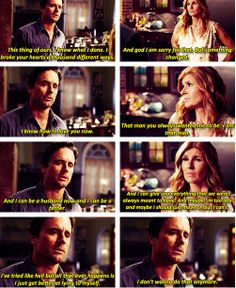 Nashville- this finale scene with Rayna and Deacon is amazing.