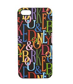 Dooney and Bourke Small Leather Retro iPhone 5 Case #Dillards