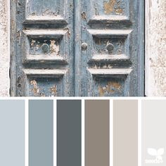 SnapWidget | today's inspiration image for { a door tones } is by @peoniesncream ... thank you Beatriz for another inspiring #SeedsColor image share!