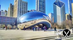 Chicagos Cloud Gate aka the Bean #ToLiveAndDine #Foodie #Comedy #Travel #Wanderlust