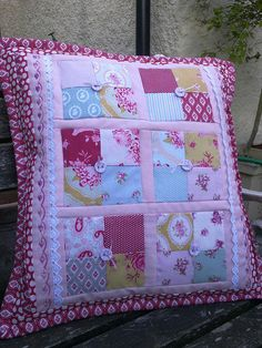 Cushion with Tilda fabrics