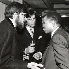 l-r, Dave Godin, Norman Jopling, Berry Gordy, 1964