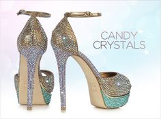 a5f47fb391199 Candy Crystals by Le Silla  heels Candy Crystals