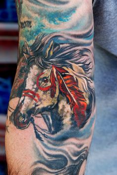 Tatoos on pinterest native american tattoos kokopelli for Horse tattoo traditional