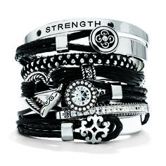 Love stacking bracelets by Brighton