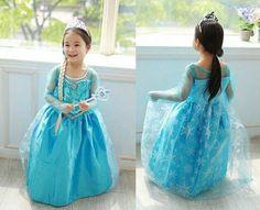 Transforme a sua pequenina na Elsa de Frozen :) #fantasias #carnaval #frozen