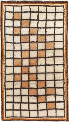 Vintage Persian Gabbeh Rug, No. 11885 - 3ft. 5in. x 6ft. 3in.
