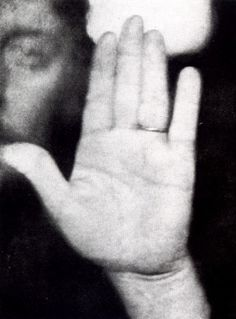 Gauguin's Hand...Photographed by Julien Leclercq, who was interested in palmistry.