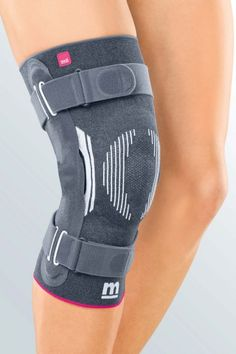 Genumedi pro knee support - innovative design even with easyglide hinge to mimic the natural knee movement