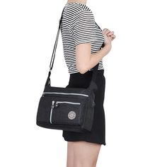 Messenger Bag, Fashion Crossbody Bags, ZYSUN Designer Purses and Handbags for Women and Girls(601N, black): Handbags: Amazon.com