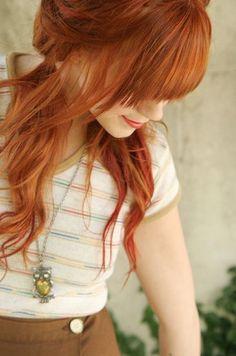 Natural Ginger Hair Color – Trend Decor for You! Color Rubio, Red Hair Don't Care, Copper Hair, Redhead Girl, Beautiful Redhead, Gorgeous Hair, Dream Hair, Hair Today, Hair Dos