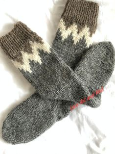 Thermal Socks Norweger-Socken with Wool for Children with ABS