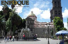 Zócalo y Catedral, Puebla, México Foto: Daniel Jiménez