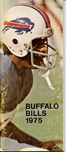 1975 Buffalo Bills Media Guide