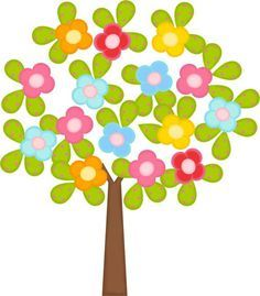 Linda arvore decorativa adesiva . Alegre , moderna !  fazemos qualquer tamanho .  consulte !!! Baby Clip Art, Paper Crafts, Diy Crafts, Flower Clipart, Applique Patterns, Art Plastique, Tree Art, Felt Flowers, Fabric Painting