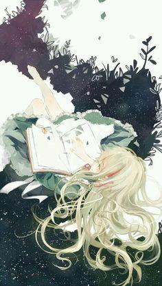 anime girl;wallpaper