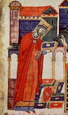 Victor III. - Desiderius of Montecassino - Pintura románica - Wikipedia, la enciclopedia libre