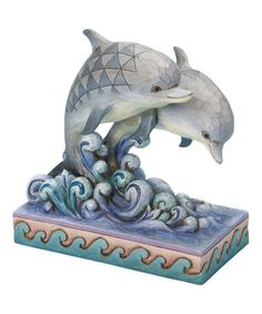 Love this Dolphin Pair Figurine by Jim Shore on #zulily! #zulilyfinds