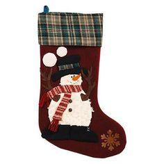 "30"" Snowman Stocking   Nebraska Furniture Mart"
