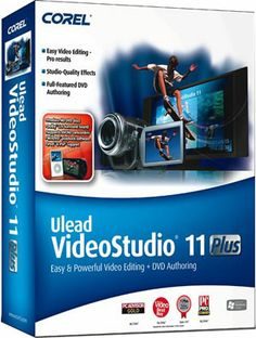 Ulead Video Studio Plus 11 easy to use Video editing tool for making great movies software for Windows.