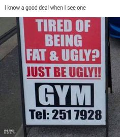 Need a good laugh after a long day staring at your office walls? These comical videos will make you LoL. Haha, Gym Quote, Memes Of The Day, Humor Grafico, Workout Humor, Health Quotes, Funny Jokes, Funniest Memes, Funny Shit