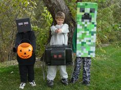 The guide of minecraft enderman costume to dress up smart in 2014 Halloween party - Fashion Blog